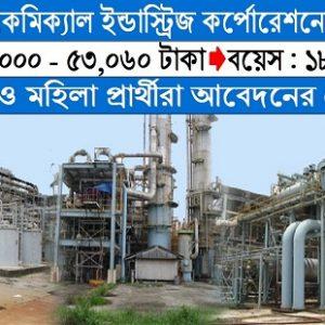 Bangladesh Chemical Industries Corporation BCIC Job Circular